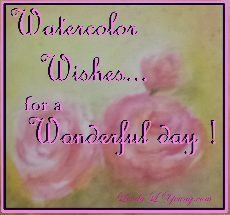 watercolor wishes