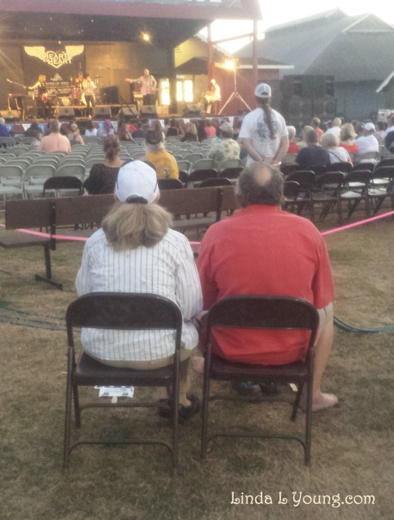 a couple at fair,people